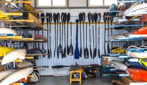 La Mejor Estantería De Almacenamiento De Kayak Y Elevadores